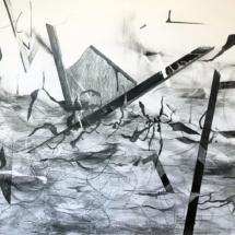 DRAWING - LANDCSAPE - WAVE